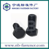 ANSI/ASTM/ASME SAE J429 Hex Kopfschrauben-Grad 2 oder schwarzes volles Gewinde 5 oder 8
