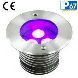 3x1W LED enterrada Luz Buried (JP82531)