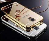Caja de parachoques del teléfono del metal al por mayor de la alta calidad para Samsung S5