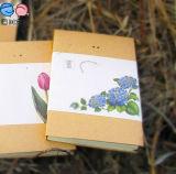 2016 Diseño A5 Papel Kraft cuaderno en blanco para la venta al por mayor