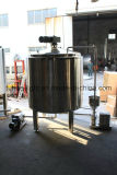 Жидкость нержавеющей стали и бак порошка активный