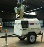 serie chiara mobile portatile del gruppo elettrogeno della torretta di illuminazione