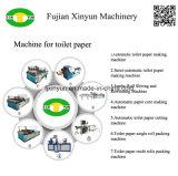 Autoamtic Toilettenpapier, das Maschinerie durchlöchernd rückspult