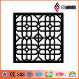 Ideabond Entwurfs-CNC geschnitztes perforiertes Aluminiumpanel für Decken-Dekoration-im Freiendekoration vom China-Lieferanten
