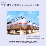 Horizontale het Vullen van LPG van het LNG Cilinder c-19 van de Olie van de Machine