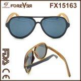 2016 vendite all'ingrosso degli occhiali da sole di legno polarizzati 400ce UV di nuova alta qualità di disegno