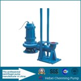 Pompe à eau encrassée submersible électrique de série de Wq
