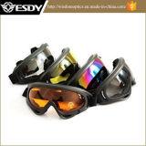 5 vidros de caça táticos da motocicleta da proteção do X.400 dos óculos de proteção de Airsoft das cores
