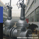 Flange RF ou Bw Cast & Forged Stainless Steel Industrial Wedge Gate Valve com Rising Stem