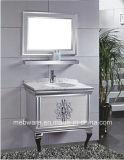 2016 Hangzhou moderno esforçam-se gabinete de banheiro do aço inoxidável
