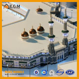 Modèle de mosquée de la Mecque de l'Arabie Saoudite/beau modèle d'édifice public/modèle de construction/modèle résidentiel/toutes sortes de fabrication de signes