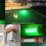8W Super LED Luminoso-verde Fishing Light