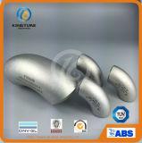Autógena de tope que ajusta la instalación de tuberías del codo 90d LR del acero inoxidable a ASME B16.9 (KT0316)