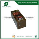 Коробка лоснистого слоения бумажная упаковывая
