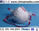 Лицевой щиток гермошлема обеспеченностью респиратора от пыли устранимого вздыхателя CE Non-Woven