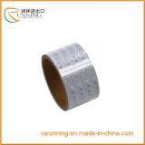 Do cuidado puro da segurança da cor do PVC fita adesiva reflexiva (EN471)