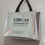 Saco de portador não tecido laminado tira para a compra (LJ-161)