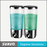 Small Dual Tank (V-9102S)를 가진 플라스틱 Wall Mount Soap Dispenser