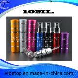 Pulverizador Refillable do atomizador do perfume do curso do metal portátil