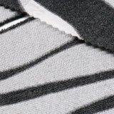 Tissu traité de laines d'escompte de mode avec la fourrure courte