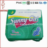 Ultra Thin Mesh Top Sheet Cheap Sanitary Napkins für Wholesale