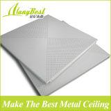 panneau de plafond en aluminium de bureau de couleur de blanc de 600*600mm