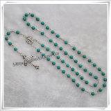 Comment prier le rosaire, rosaire en bois religieux de talons (IO-cr326)
