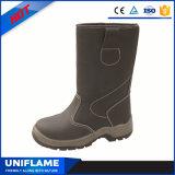 El trabajo del calzado de la seguridad anuda los zapatos Ufa068