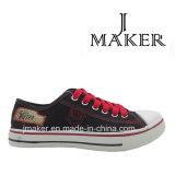 Zapatos de lona ocasionales de la fábrica del hombre caliente de la producción 1057-M