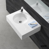 Italienischer Badezimmer-Stein-Fußboden-stehendes Handwäsche-Bassin