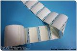 Étiquette de papier excentré dans toute taille