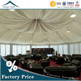 Luxurious Decorations를 가진 유리제 Wall 8m Diameter 다중 Sided Marquee Party Tent