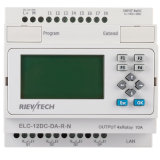PLC van Ethernet, Ideal Solution voor Afstandsbediening (elc-12dc-DA-r-n-HMI)