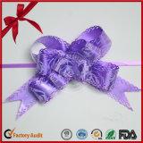 Смычок тяги подарка рождества упаковывая штейновый металлический