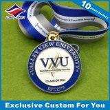 Venda por atacado da medalha da graduação das medalhas do esporte da universidade da faculdade da escola
