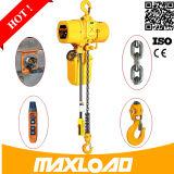 Mecanismo compacto de 0,5 Ton Ton 1 Pequeño eléctrico 110V Chain Hoist