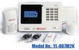 Nuovo sistema di allarme di GSM con la rilevazione incorporata di movimento di PIR