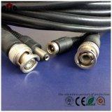 CCTV câbles coaxiaux Rg59 + 2c avec connecteurs