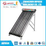 Capteur solaire de tube électronique pressurisé élevé de caloduc