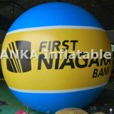 PVC広告のための膨脹可能な気球球