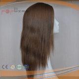 Peruca das mulheres do cabelo de Brown Remy nenhuns estrondos