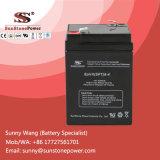 6V 4ah tiefes Schleife-Leitungskabel saure AGM-Batterie UPS-Batterie