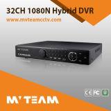 H. 264 32 Kanal 1080n Ahd Cvbs IP 3 in 1 hybridem 32CH DVR (62B32H80P)