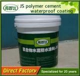 Material impermeable cementado polímero componente favorable al medio ambiente de Js