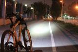 Luz recargable impermeable de la bicicleta de 1800lumens LED