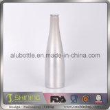 Bunte Aluminiumbierflasche