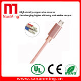 Umsponnenes USB 2.0 Synchronisierungs-Ladung-Nylonkabel für Samsung