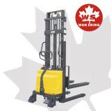 쉬운 통제 1.0-1.5 톤 수용량 반 전기 쌓아올리는 기계