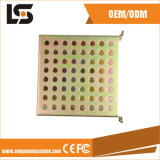 Verschiedenes CNC-Metall, das Teile mit unterschiedlichem Material stempelt