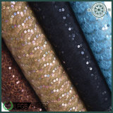 Wedding Dressのための品質Colorful Embroidery Lace Nylon Fabric